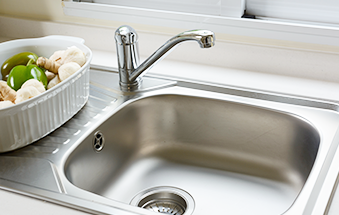 TAKE A CLOSER LOOK AT YOUR KITCHEN SINK!