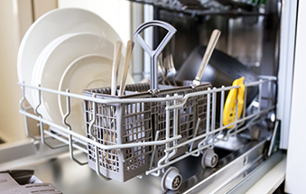 Does your dishwasher smell bad?